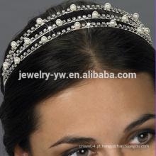 Moda branco anjo halo headband venda popular headband headband para as mulheres