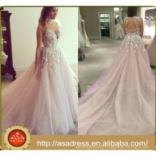 SEWY08 Sexy Open Back Lilac Alibaba 2016 sexy wedding dress