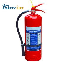 Garrafa de extintor de incêndio em pó químico ABC