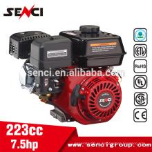 Para la arandela de la presión 4 cilindro 4.5kw 7.5hp 223cc Motor de gasolina