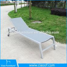 Chaises de loisirs en aluminium