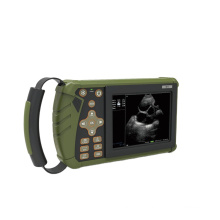 Full-Digital 80 Elements 5.6 Inch black and white ultrasound Veterinary Ultrasound Machine For Animal