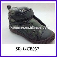 2014 últimos zapatos de acción de moda agradable para niños