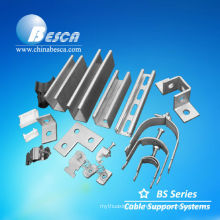 Galvanized U Shaped Hot Rolled Channel Steel (UL, IEC, SGS and CE)