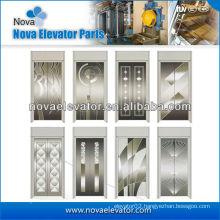 Standard Hairline Stainless Steel Elevator Door Panel,Lift Cabin Door