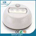 Battery operated rotating LED motion sensor light