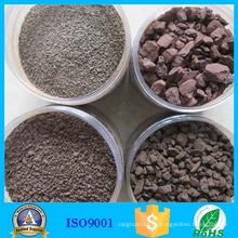 Марганцевой руды дробильно фильтр природный песок марганца частиц