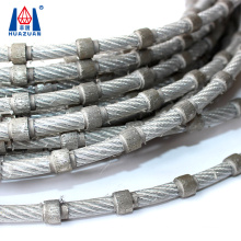 China Huazuan Sintered 9mm Diamond hot sale Wire Saw for marble