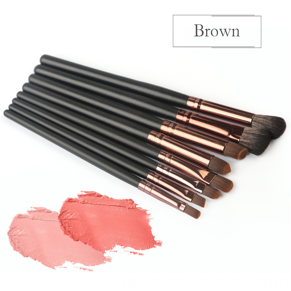 6 Piece Eye Makeup Brushes Set 10