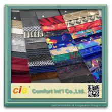 Tela de impressão de tecido de carro de Dubai Jacuqard Fabric Auto Fabric