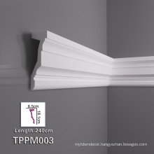 Finely Processed Polyurethane Wall Molding