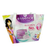 cosmetic bag, promotional zipper bag packaging bag with pocket inside