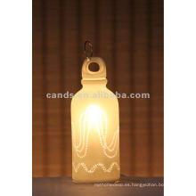 Interior de cerámica del arte de la botella de leche que enciende la lámpara del haluro del metal de Osram