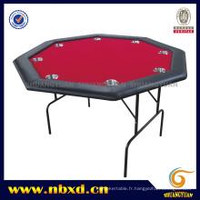 Table de poker de 48 pouces avec pied de fer (SY-T15)