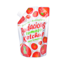 Custom Bag Design Printed Stand up Pouches for Beverage Liquid Water Drink Juice Packaging Bag Spout Pouch Doypack