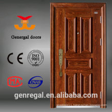World Top End Transfer grain residential luxury security wood door