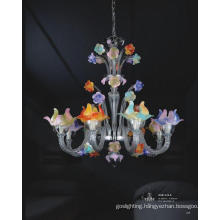 Especially Beautiful Flower Glass Pendant Lamp (81125-8)