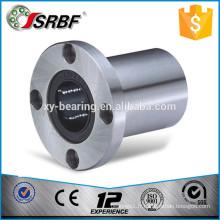 Roulements linéaires à bride ronde en acier chromé en Chine LMF25UU