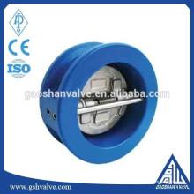 Wcb двойной пластинчатый обратный клапан