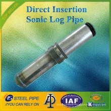 Nouvelle série Type d'insertion directe Sonic Log Pipe / Tube / Sounding Pipe (Prix concurrentiel)