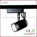 Luz da trilha do diodo emissor de luz do preto de 3 * 1W para a iluminação comercial (LC2203)