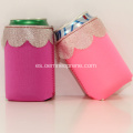 Regalos de boda Lace Design Neoprene Can Holder Koozie