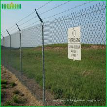 Vente en gros de fil de rasoir haute sécurité barrière de sécurité de l'aéroport
