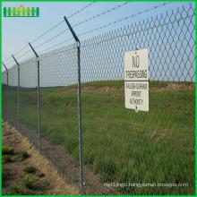 High Security Steel Matting Anti-Climb Airports Fence