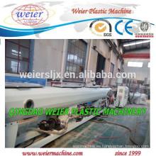 tubería de polietileno de alta densidad que hace la línea de producción de la máquina/planta/pipa plástica