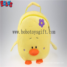 "11.8""Lovely Yellow Duck Children Plush Backpack Bos-1231/30cm"