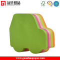 SGS Cute Different Shaped Sticky Notes Car Shaped Memo Pad