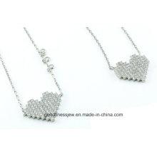 Ensemble de bijoux en argent sterling 925 en forme de caisses chauds S3279