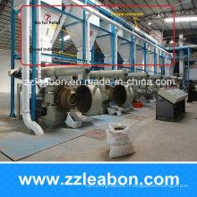 Chaîne de production automatique de granule de bois de carburant de la biomasse 1-10t par heure à vendre