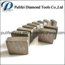 Granite Cutting Rock Segment for Abrasive Marble Stone Cutting