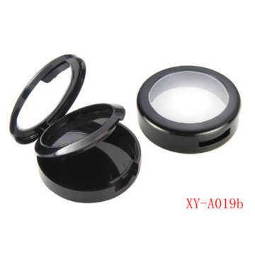 Round Plastic Compact Powder Container