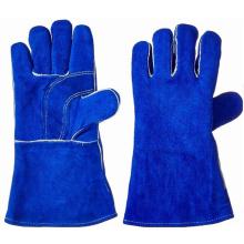 Royal Blue Rindspaltleder Arbeitshandschuhe Schweißhandschuh