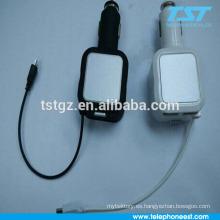 Cargador sin hilos con la carga del USB para el teléfono del mobie