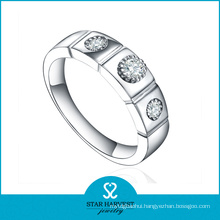 New Come Vogue 925 Sterling Silver Ring with CZ (R-0365)