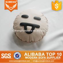 SUMENG laugh plush caterpillar emoji pillow CE012