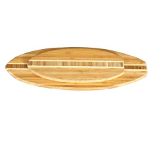 Tablero de corte de surf End Grain Inlay Bamboo