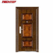 TPS-082b oscilación abierta estilo barato exterior puerta de acero para la habitación