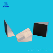 Optical right angle prism,A=B=C=25mm k9 glass AL coated