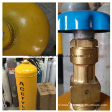 Cga-300-2 exportent le cylindre de gaz d'acétylène arabe