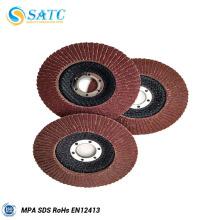 Disco barato de la aleta de China 115x22m m para el metal con de alta calidad