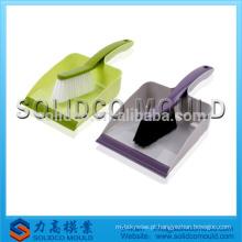 Molde plástico do espanador do molde do agregado familiar dos produtos do trabalho feito com ferramentas para limpar