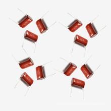 Metallisierter Polyester-Film-Kondensator Mkt-Cl21 10UF 5% 100V für Waschmaschine