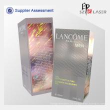 Caixas de papelão embalagens de cosméticos de holograma moda eco-friendly