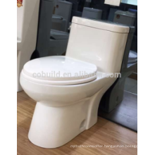 cUPC approval Floor mounted S-trap bathroom ceramic one piece wc toilet