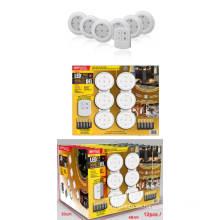 LED inalámbrico Stick-on Tap Puck Cabinet Light con control remoto (ZT18001)