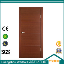 Comtemporary Europe Flush Primed Solid Wooden Door for Interior Room